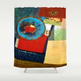 Kurt Schwitters Variation Shower Curtain