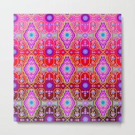 exotic happiness medallions Metal Print