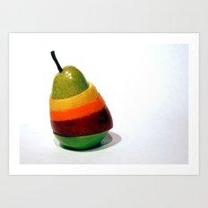 Fruit Stand Art Print