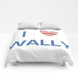 I Heart Wally Comforters