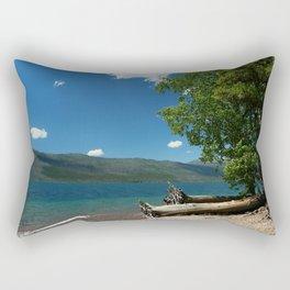 Serene McDonald Lake Rectangular Pillow