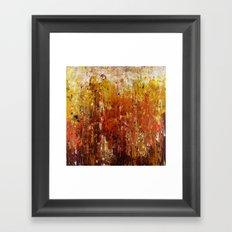 Like a flame Framed Art Print