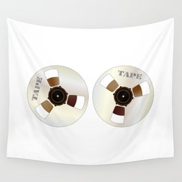 Reels of Magnetic Tape Wall Tapestry