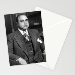 Al Capone In Custody - Chicago Detective Bureau - 1931 Stationery Cards