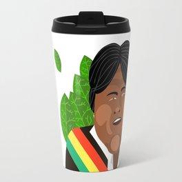 Evo Morales Travel Mug