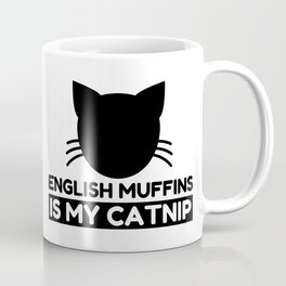 English muffins Lover Funny Cat Gifts Coffee Mug