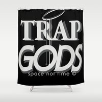 gucci Shower Curtains featuring trap gods... by kemistree