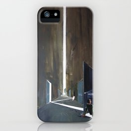 The path of thinking iPhone Case