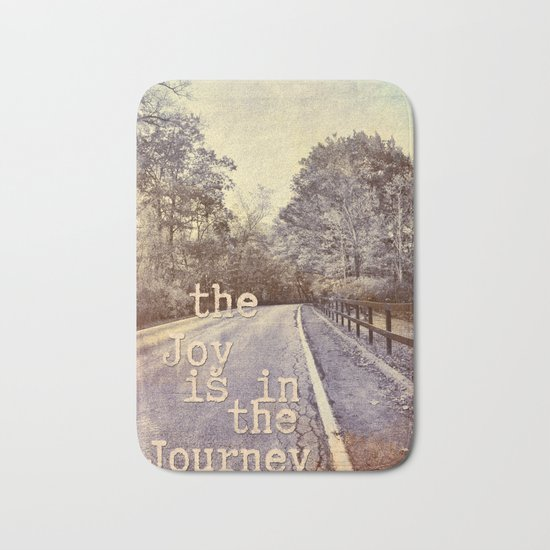 Road Trip - the joy is in the journey - Bath Mat