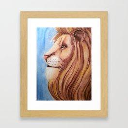 Lion of the Tribe of Judah Framed Art Print