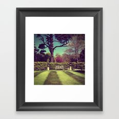 Take a seat part 5 Framed Art Print