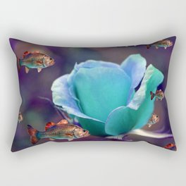 sea garden Rectangular Pillow