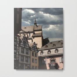 Medieval village of Cochem | Pastel colors in Germany, Europe - Travel photography Metal Print