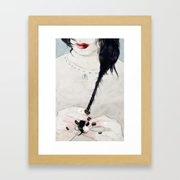 i'm not done Framed Art Print