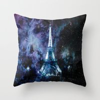 paris Throw Pillows featuring Paris dreams by 2sweet4words Designs