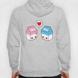 Milks in love Hoody