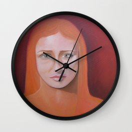 Study of a Hypnotic gaze Wall Clock