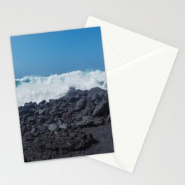 Atlantic Waves and Volcanic Coast, Lanzarote Stationery Cards
