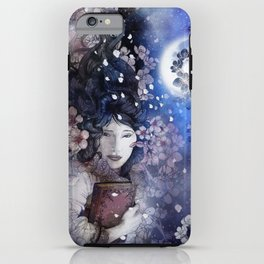 Amidst the blossoms iPhone Case