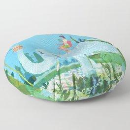 Summer Reading Floor Pillow