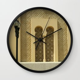 Oriental architecture Wall Clock