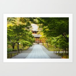 Nanzenji Temple in Kyoto, Japan Art Print