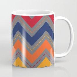 Favorite Colors Chevron Coffee Mug