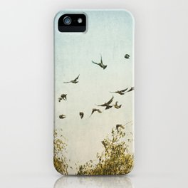 A Feeling of Change iPhone Case