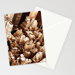 NYC - Big Apple from Empire  Stationery Cards