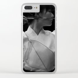 Kyudo - The Japanese archery Clear iPhone Case