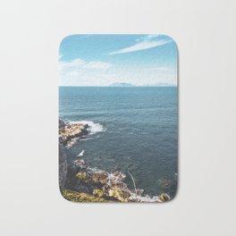 sea wall art, sea phone case, coastal living decor,beach style furniture,coastal living room ideas, Bath Mat