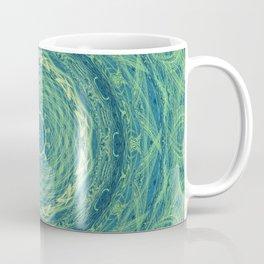 Green Elevation Mandala Coffee Mug