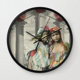 I BEG YOUR PARDON Wall Clock