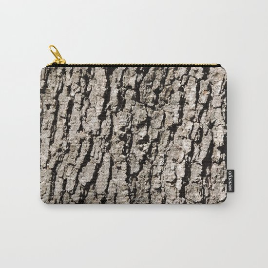TEXTURES - Valley Oak Tree Bark Carry-All Pouch