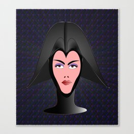 Wicked Lady Vader Canvas Print