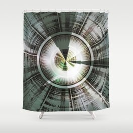 Circling Desires Shower Curtain