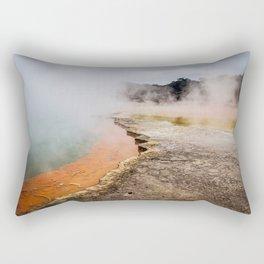 Thermal Wonderland- Artists Pallet Rectangular Pillow