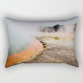 Thermal Wonderland- Artists Pallet Rectangular Pillow