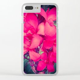 Canna flowers Clear iPhone Case