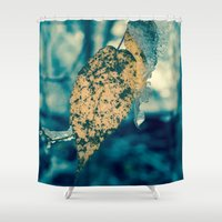 strong Shower Curtains featuring Strong Enough by Faded  Photos