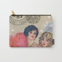 The 1920's Girls Carry-All Pouch