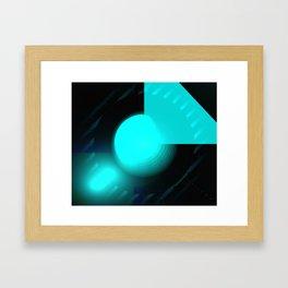 I'm Blue Framed Art Print