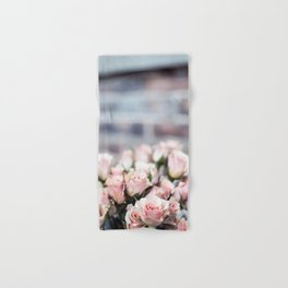 ROSES - PINK - PHOTOGRAPHY - FLOWERS Hand & Bath Towel