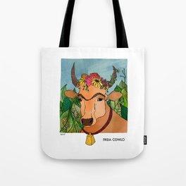 Frida Cowlo Tote Bag