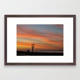 baywatch Framed Art Print