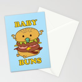 BABY BUNS 2 Stationery Cards