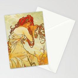 Alphonse Mucha - Summer Stationery Cards
