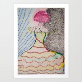 MODEL II Art Print