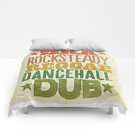 Shades of Reggae Comforters