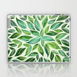 Spring Leaf Mandala Laptop & iPad Skin